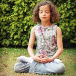 child meditating pic