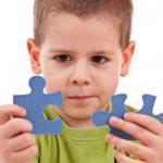 kid and jigsaw